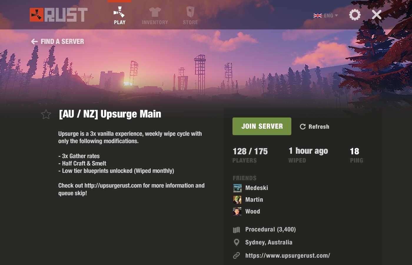 A better Rust menu interface | Glenn McComb - Freelance
