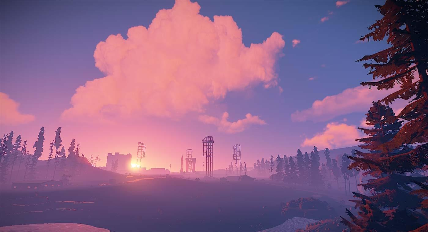 Rust Sunset