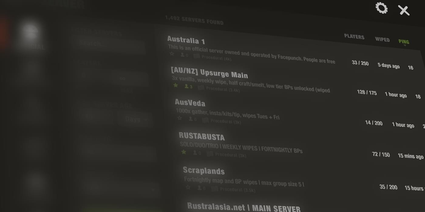 A better rust menu interface glenn mccomb freelance designer and a better rust menu interface glenn mccomb freelance designer and front end developer based in melbourne australia malvernweather Choice Image